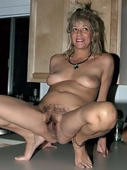 Mature hairy nude Nude Hairy
